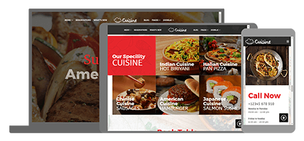 CUISINE - website