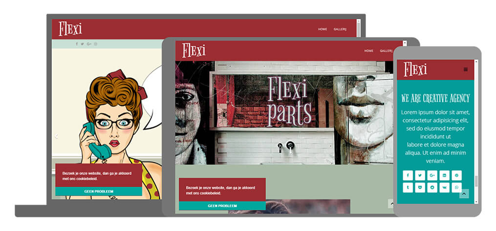 flexi u page one website lg1x