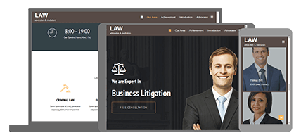 Law - website