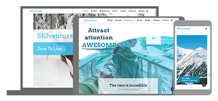 SKIventure - website