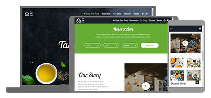 Taste Your Food - website