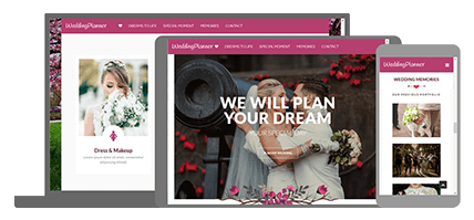 Weddingplanner - website