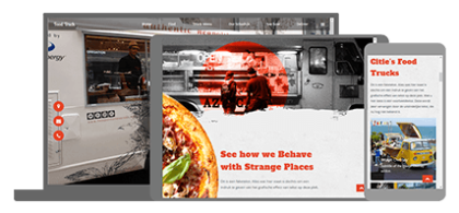 Food Truck - website