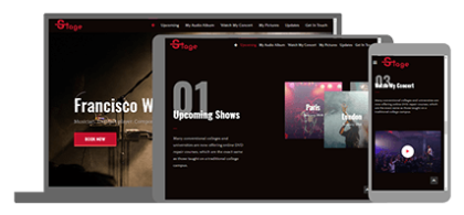 Stage - website