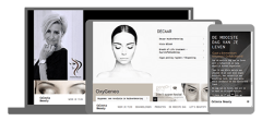 celesta beauty u page one website