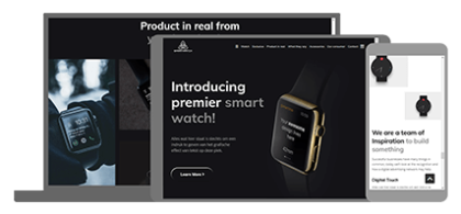 Smartwatch - website thema